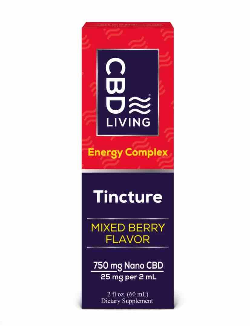 CBD Tincture - Energy
