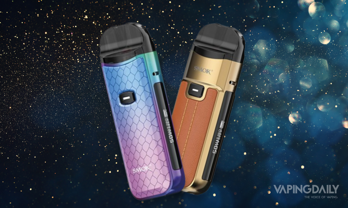 The Smok Nord 50W Pod System: A Starter Kit for Versatile Vapers