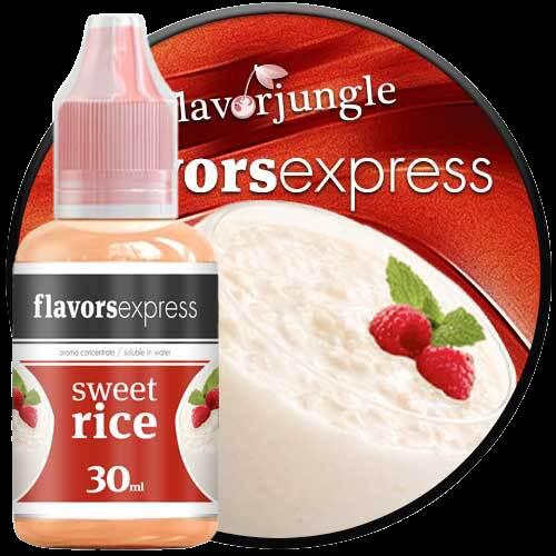 sweet rice flavor