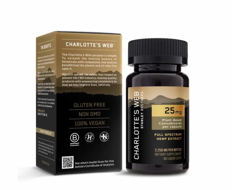 CBD Oil Liquid Capsules